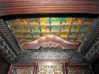 希少!スラウェシ産の「縞黒檀」を使用した キメの細かい木肌の最高級仏壇~葉月