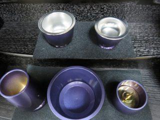 小さなお仏壇用具足 ~健気シリーズ~ ロイヤルブルーバイオレット パーソナル仏壇や「夢SO」シリーズに最適